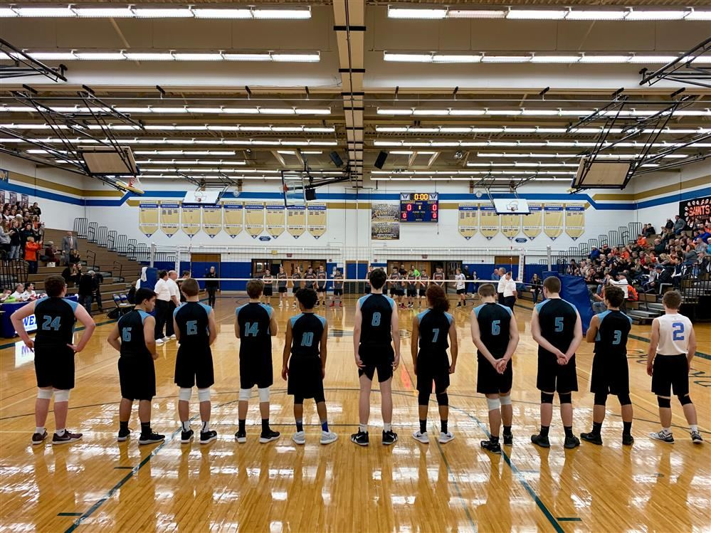 Midlakes boy volleyball prepares to compete in its sectional finals